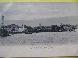 Le Port De La Canée ( Crète )     TBE - Greece