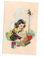 Cartolina Postcard  Carte Postale Postkarte BAMBINA FORMATO PICCOLO VIAGGIATA 1946 CECAMI N  1072 - Scene & Paesaggi