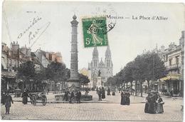 MOULINS : LA PLACE D'ALLIER - Moulins