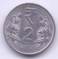 INDIA 2012: 2 Rupees, KM 395 - India