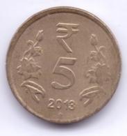 INDIA 2013: 5 Rupees, KM 399 - India