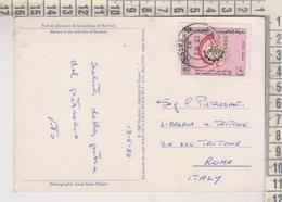 STORIA POSTALE FRANCOBOLLO COMMEMORATIVO  KUWAIT PORT DE PLAISANCE DE LA BANLIEUE  NICE STAMP - Koweït