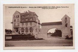 - CPA PONTANEVAUX (71) - Relais Des COMPAGNONS DE JÉHU, Route Paris-Nice - Collection Torend - - Autres Communes