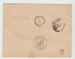 Hte GARONNE: Rap: TOULOUSE à PORT-VENDRES Au Verso LSC De Labrède Pour Oran, 1894 - Poststempel (Briefe)