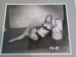 IK3 Photo Erotique 50's : JR-81 , Tirage Des 90's Provenant De La Boutique US D'IRVING KLAW , 10 X 15cm Env. - Erotiques (…-1960)