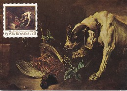 Carte Maximum  Peinture Roumanie Jean Baptiste Oudry - Maximumkarten (MC)