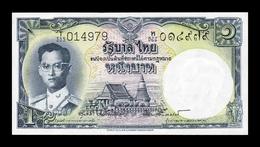 Tailandia Thailand 1 Baht 1955 Pick 74d Sign 40 SC UNC - Thailand