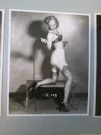 IK3 Photo Erotique 50's : JR-108 , Tirage Des 90's Provenant De La Boutique US D'IRVING KLAW , 10 X 15cm Env. - Erotiques (…-1960)