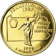 Monnaie, États-Unis, Pennsylvania, Quarter, 1999, U.S. Mint, Denver - Federal Issues