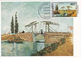 Carte Maximum  Peinture Togo 1978 Vincent Van Gogh - Togo (1960-...)