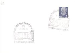 WITTENBERG LUTHERSTADT SCHLOSSHOFFEST 1969   (MAGG20361) - [6] Democratic Republic