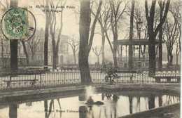 ALBI  Le Jardin Public Et Le Kiosque  RV - Albi