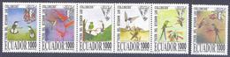 1995. Ecuador, Birds/Hummingbirds, 6v, Mint/** - Ecuador
