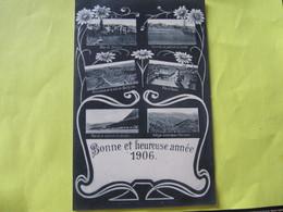 Bonne Et Heureuse Année  1906    Crète      TBE - Greece