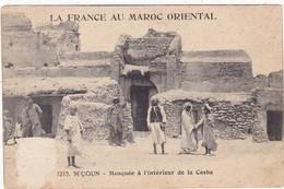 Maroc : M'COUN : Mosquée à L'intérieur De La Casba : ( Animation ) La France Au Maroc Oriental - Maroc