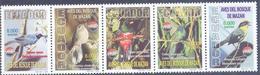 2000. Ecuador, Birds Of Mazan Forest, 5v, Mint/** - Ecuador