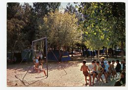 CAMPING Bel-air CAPBRETON Landes Jeux D'enfants été Summer Carte Postale 1965 60s Nature - Altri