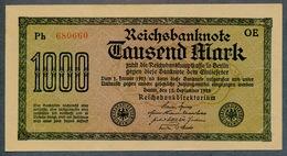 Pick76b Ro75d DEU-85  1000 Mark 1922 ** UNC NEUF - [ 3] 1918-1933 : Weimar Republic