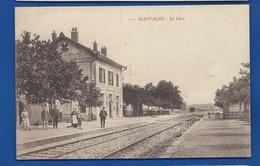MAUVAGES    La Gare      Animées         écrite En 1916 - Sonstige Gemeinden