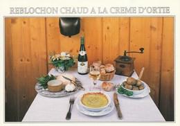 Recette Du Reblochon Chaud à La Crème D'ortie  Fournie Par LA R'MIZE à RAVANEL - 74400 ARGENTIERE - Recipes (cooking)