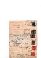 TIMBRES...TYPE EXPO 1931.......LOT DE 100 SUR CPA................VOIR SCAN......LOT 135 - France