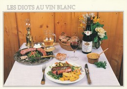 Recette Des Diots Au Vin Blanc Fournie Par LA R'MIZE à RAVANEL - 74400 ARGENTIERE - Recipes (cooking)