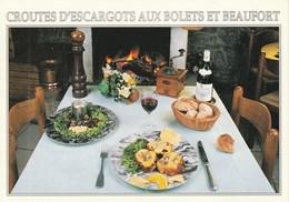Recette Des Croutes D'Escargots Aux Bolets Et Beaufort Fournie Par LA R'MIZE à RAVANEL - 74400 ARGENTIERE - Recipes (cooking)