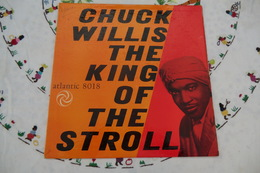 Disque De Chuck Willis - The King Of The Stroll - Atlantic 8018 - 1958 - Soul - R&B