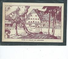 """74-LARRINGES-( Evian-les-Bains)-Une Vue De L'HOTEL Du CHALET """"de Larringes- - Andere Gemeenten"""