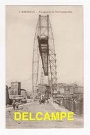 DF / 13 BOUCHES-DU-RHÔNE / MARSEILLE / VUE GENERALE DU PONT TRANSBORDEUR / ANIMÉE / 1915 - Old Port, Saint Victor, Le Panier