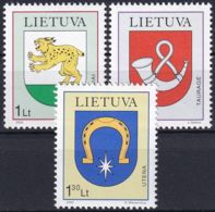 LITAUEN 2000 Mi-Nr. 739/41 ** MNH - Lithuania