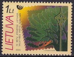 LITAUEN 2000 Mi-Nr. 738 ** MNH - Lithuania