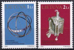 LITAUEN 2000 Mi-Nr. 728/29 ** MNH - Lithuania
