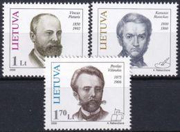 LITAUEN 2000 Mi-Nr. 725/27 ** MNH - Lituanie