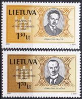 LITAUEN 2000 Mi-Nr. 722/23 ** MNH - Lituanie