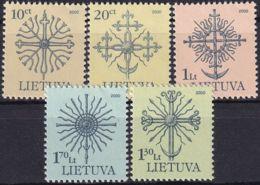 LITAUEN 2000 Mi-Nr. 717/21 AI ** MNH - Lituanie