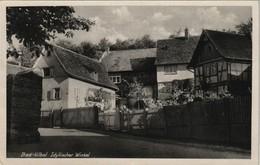 """Ansichtskarte Bad Vilbel Strassen Ansicht """"Idyllischer Winkel"""" 1950 - Deutschland"""