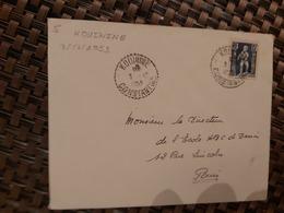 Kouinine Pour Paris ( Le 03 12 1953) Algérie - A.O.F. (1934-1959)