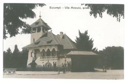 RO 28 - 15656 BUCURESTI, Vila Minovici, Romania - Old Postcard, Real PHOTO - Unused - Rumänien