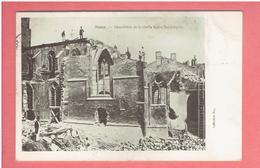 NANCY 1904 DEMOLITION DE LA VIEILLE EGLISE SAINT EPVRE CARTE EN TRES BON ETAT - Nancy