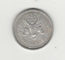 1 FRANC 1948 ALUMINIUM  PARIS - Madagascar