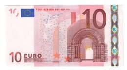 10 € Germania X E005F2 Trichet  FDS UNC DA MAZZETTA  Cod.€.235 - 10 Euro
