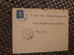 Saint-Charles De Philippeville Pour Paris ( Le 06 05 1953) Algérie - Lettres & Documents
