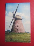 Cēres  Windmill Molen Windmolen  Postcard  Latvia / Lettland   1930s - Lettland