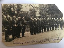 Pompiers. .carte Photo Commercy - Sapeurs-Pompiers