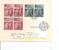 Vatican ( Lettre Recommandée De 1961 Vers La Belgique à Voir) - Covers & Documents