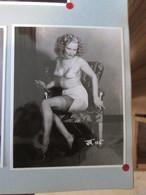 IK3 Photo Erotique 50's : JR-115 , Tirage Des 90's Provenant De La Boutique US D'IRVING KLAW , 10 X 15cm Env. - Erotiques (…-1960)