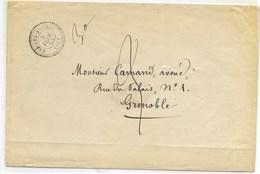 Rare Tarif Local Au 3 éme échelon De Poids D'une Distribution Pour Sa Direction 1855. (Isére) - 1849-1876: Classic Period
