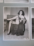 IK3 Photo Erotique 50's : LIBBY-38 , Tirage Des 90's Provenant De La Boutique US D'IRVING KLAW , 10 X 15cm Env. - Erotiques (…-1960)