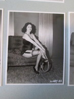 IK3 Photo Erotique 50's : LIBBY-33 , Tirage Des 90's Provenant De La Boutique US D'IRVING KLAW , 10 X 15cm Env. - Erotiques (…-1960)